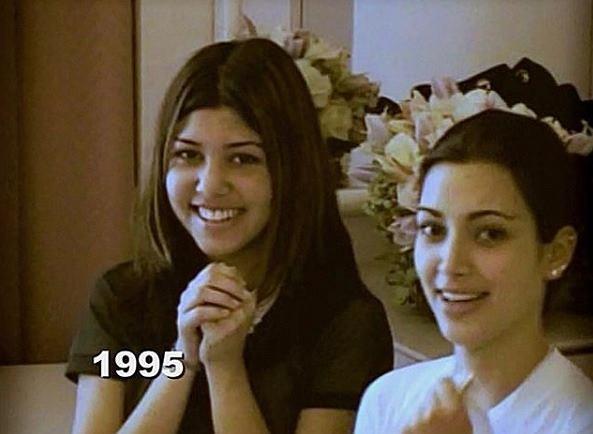 14 letnia Kourtney Kardashian hitem internetu. Jedno się nie zmieniło