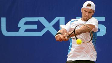 Maciej Rajski (na zdjęciu) stracił wszystkie 44 punkty z rankingu ATP