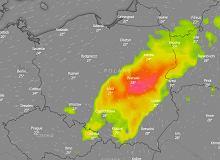 Gdzie jest burza? IMGW ostrzega przed opadami w ośmiu województwach