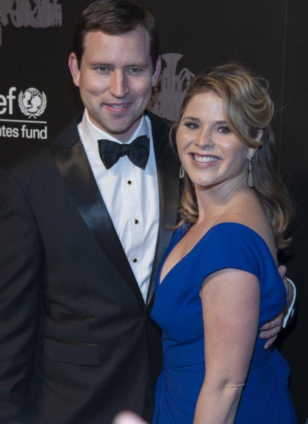Jenna Bush i jej mąż Henry Hager