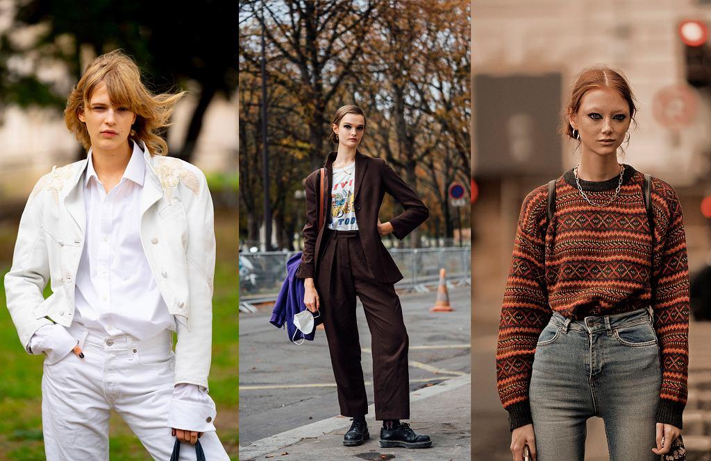 Paryż - moda uliczna. Zdjęcia z ulic Paryża podczas fashion week na sezon wiosna-lato 2021