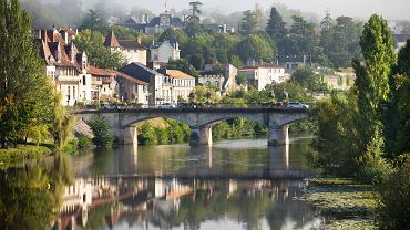 Perigord, miasteczko w Bretanii, Francja.