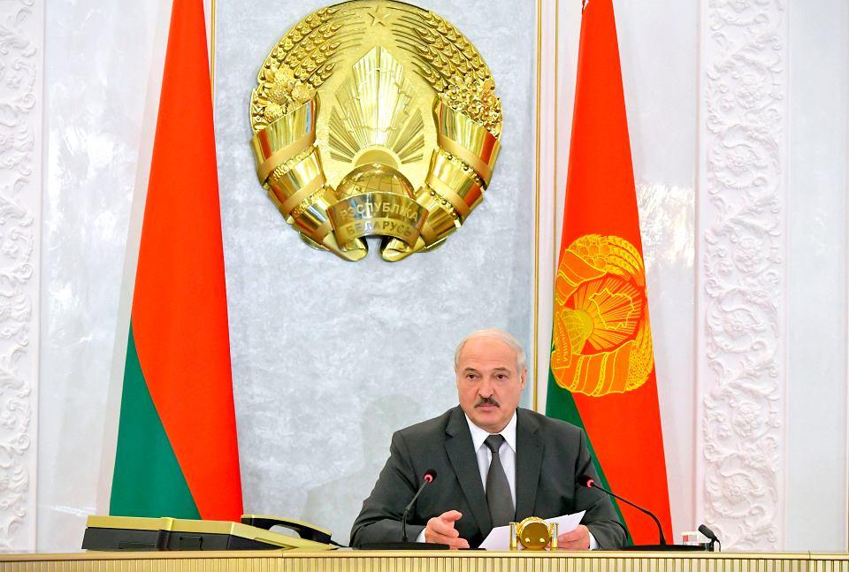 Aleksander Łukaszenka, 19 sierpnia 2020 r.