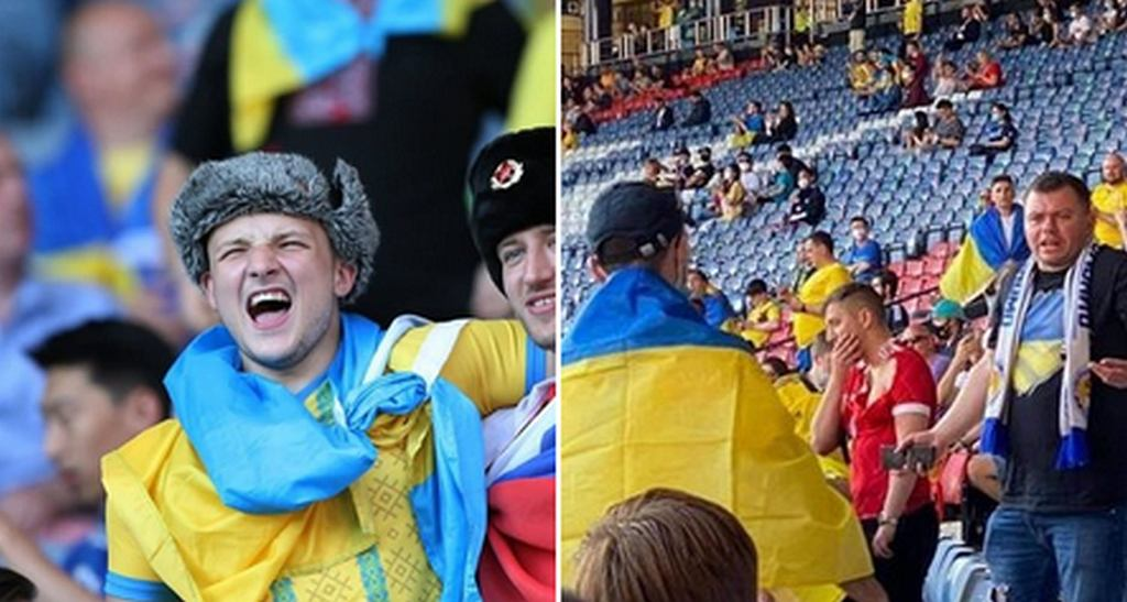 Rosjanin pojawił się w sektorze Ukraińców
