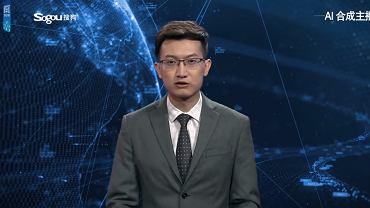 W Chinach zadebiutował wirtualny prezenter informacji. To połączenie sztucznej inteligencji i animacji