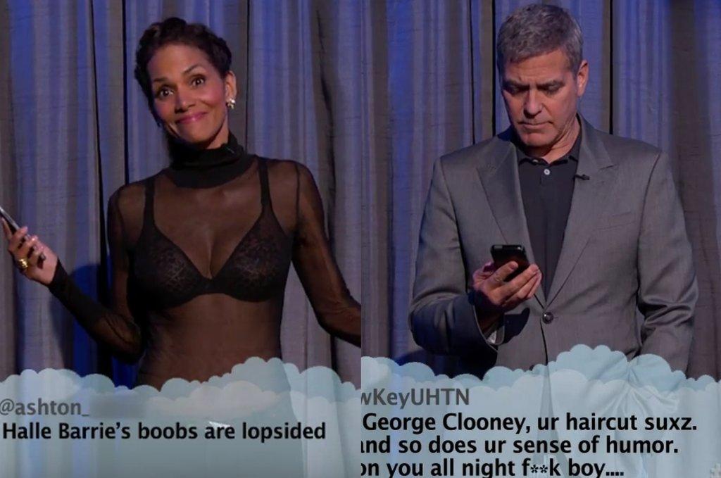 Halle Berry i George Clooney