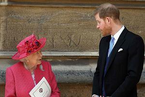 Książę Harry i królowa Elżbieta II