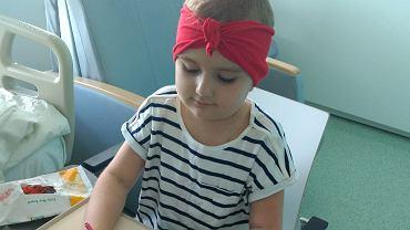 Sześcioletnia Hania Słotta z Sycowa koło Wrocławia obecnie leczy się w Klinice Przylądek Nadziei