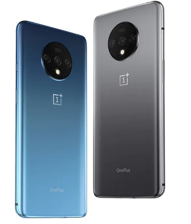 OnePlus 7T Glacier Blue i Frosted Silver