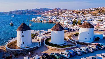 Grecja. Nowe restrykcje na Mykonos. Dotyczą m.in. przemieszczania się
