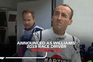 Robert Kubica wraca do F1! W piątek pojedzie w treningu. Transmisja TV