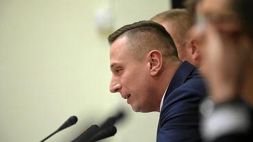 Krzysztof Brejza - jeszcze jako poseł i członek komisj ds. Amber Gold