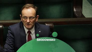 Wiceminister klimatu i środowiska Edward Siarka