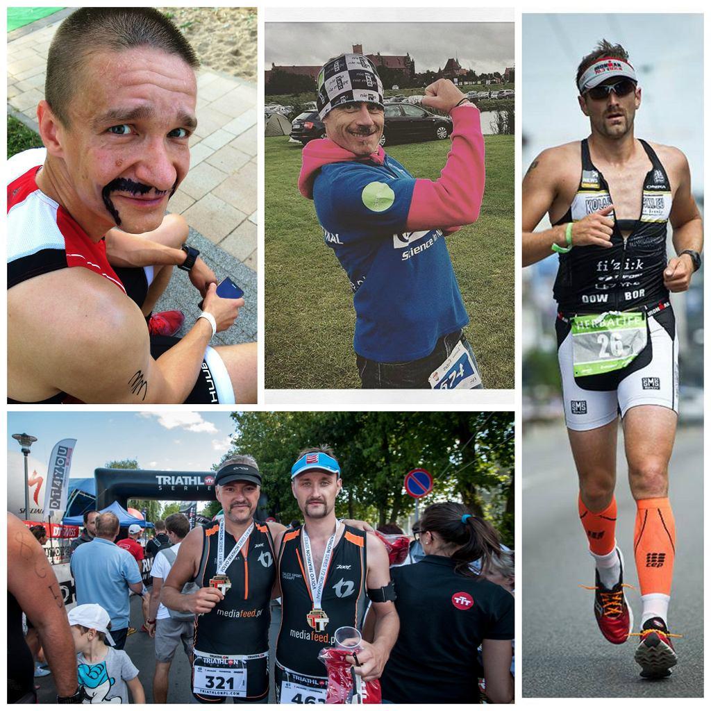 Akcja WONSY MOCY przyciąga triathlonowych celebrytów - m.in. Krasusa, Krzyśka Dietricha czy Maćka Dowbora.