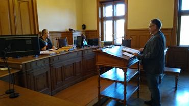 Tomasz Grabowski w sądzie