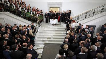 Opłatek parlamentarzystów w Sejmie, 15.12.2016