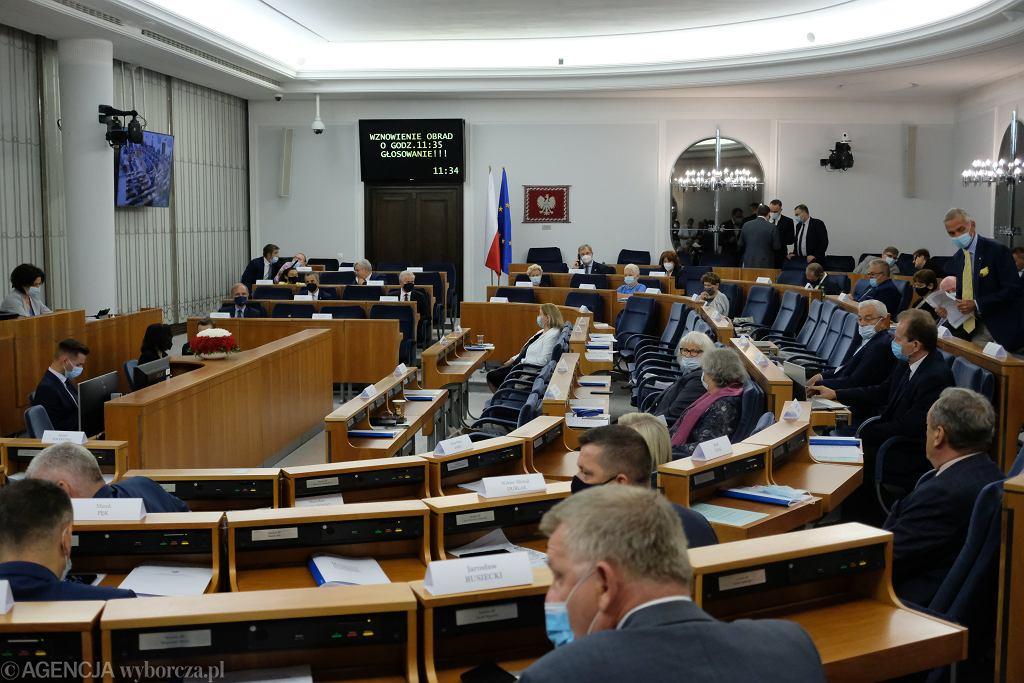 Posiedzenie Senatu (zdjęcie ilustracyjne)