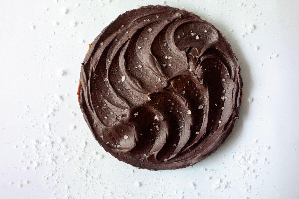 Czekoladowa tarta z awokado