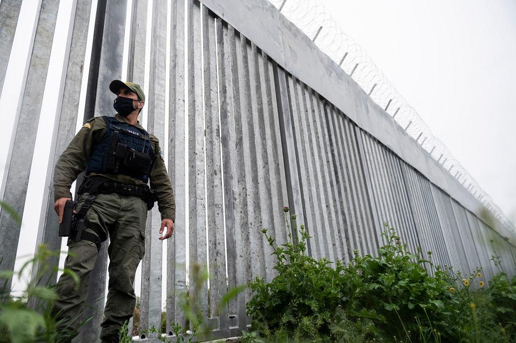 Mur na granicy grecko-tureckiej