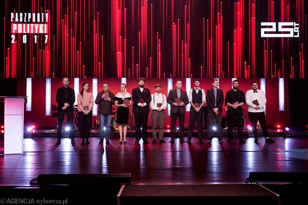 Gala wręczenia Paszportów 'Polityki' 2017
