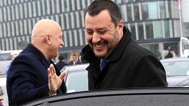 Matteo Salvini w Warszawie