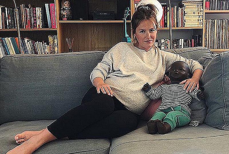 Olga Frycz mówi, ile przytyła w ciąży