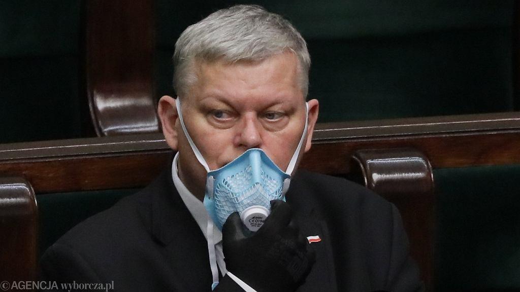 Marek Suski. PiS. Komentarze pod oświadczeniu prezesa Jarosława Kaczyńskiego