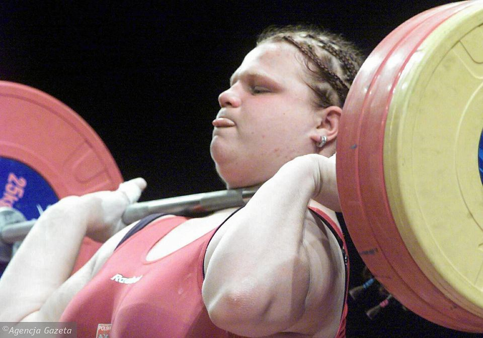 Agata Wróbel na igrzyskach w Sydney, 2000 r.