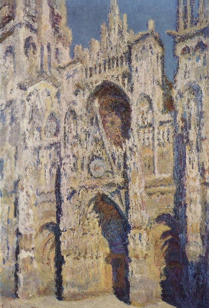 Claude Monet, 'Katedra w Rouen', 1893