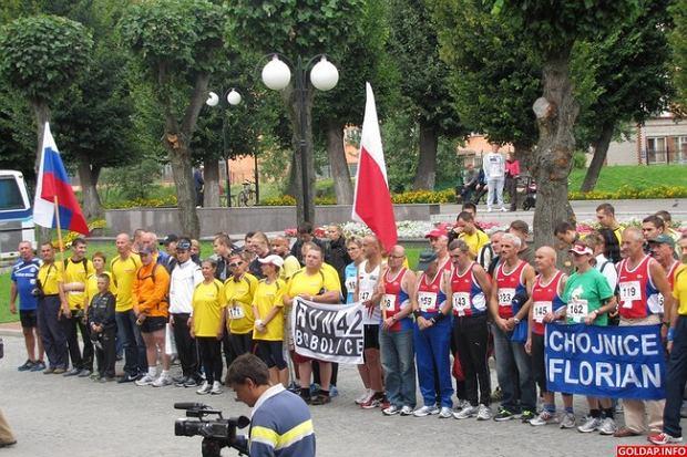 Międzynarodowy Bieg Gusiew - Gołdap 2012