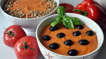 zmiksowana zupa