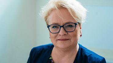Prof. Katarzyna Kłosińska - przewodnicząca Rady Języka Polskiego