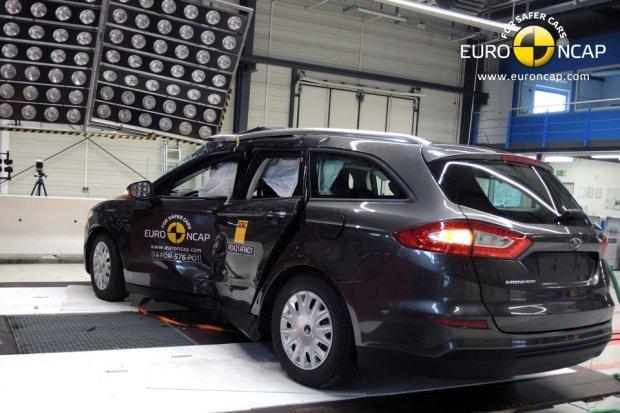 Ford Mondeo (fot. Euro NCAP)