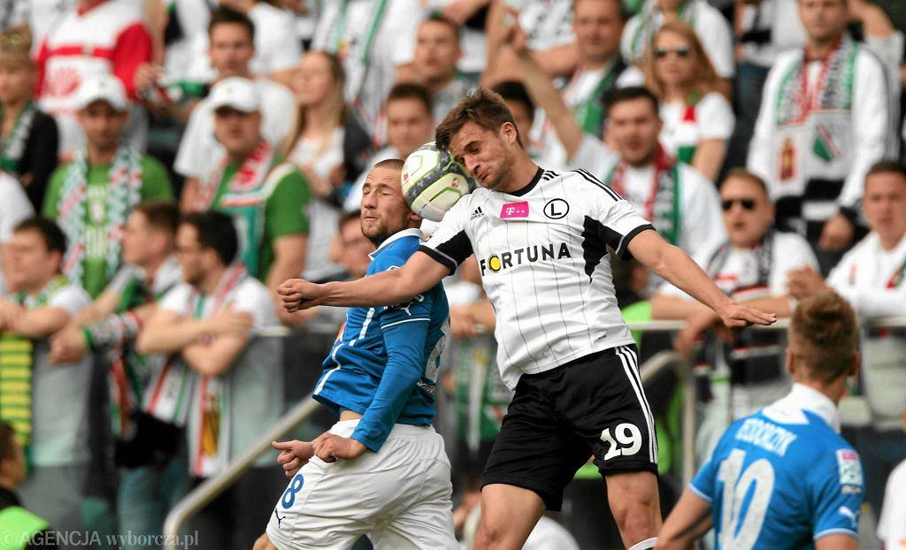 Legia Warszawa - Lech Poznań 2:0. Bartosz Bereszyński i Szymon Pawłowski
