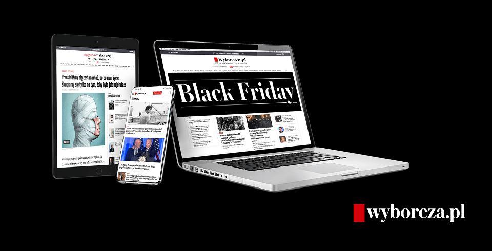 Promocja Wyborcza.pl z okazji Black Friday 2020