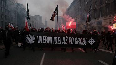 Marsz Niepodległości w Warszawie, 11.11.2020