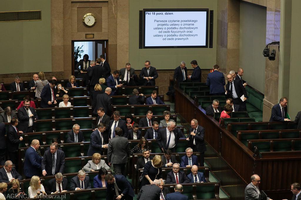 Drugi dzień drugiego posiedzenia Sejmu X kadencji, 19 grudnia 2019.