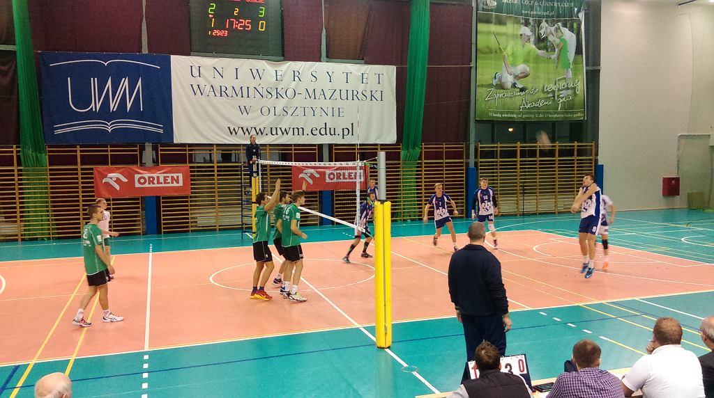 Druga liga. AZS UWM Olsztyn - Czołg AZS Uniwersytet Warszawski 2:3