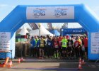 Ludzie z żelaza nad Maltą. Biegacze i triathloniści startowali razem