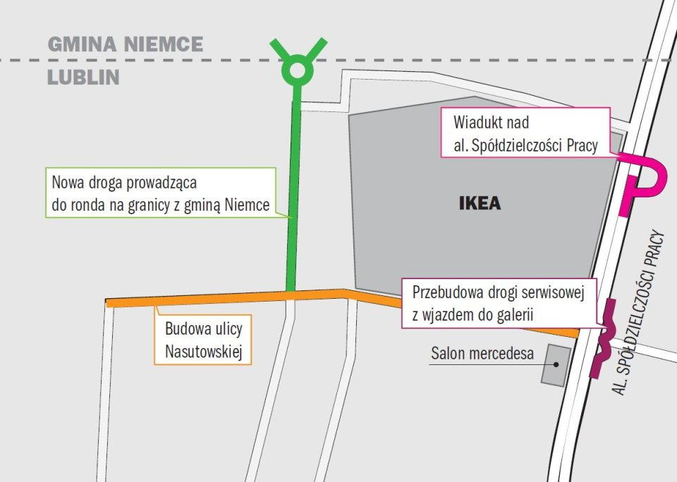 Ikea Wreszcie Rusza Z Budowa Ale Zaczyna Od Mapa Dojazdow