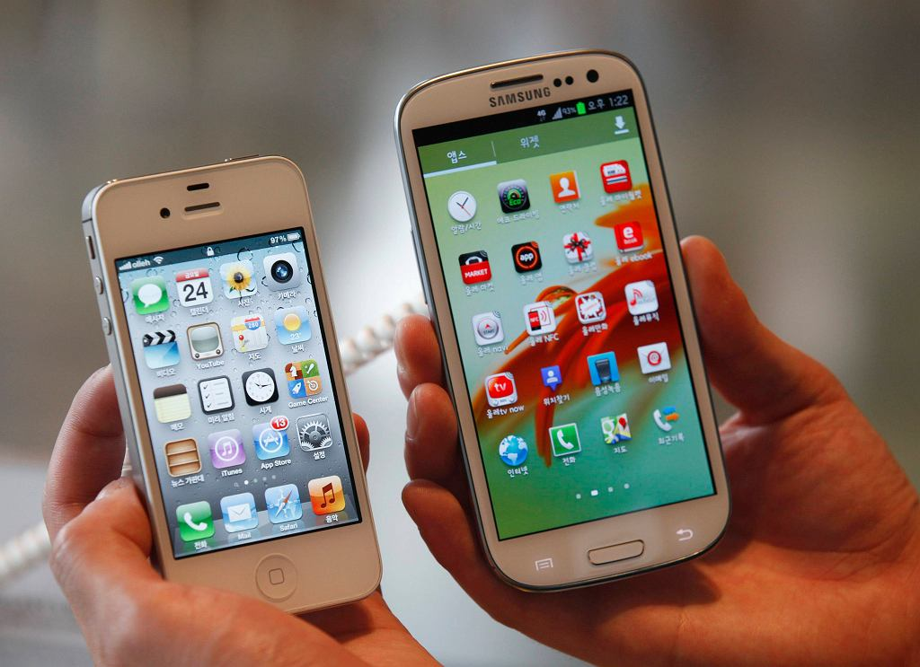 iPhone 4S i Galaxy S3