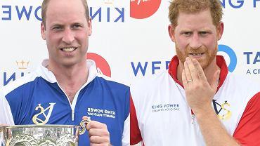 Książęta Harry i William