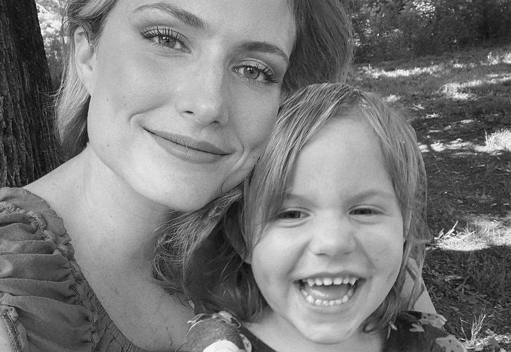 Emily Mitchell z córką