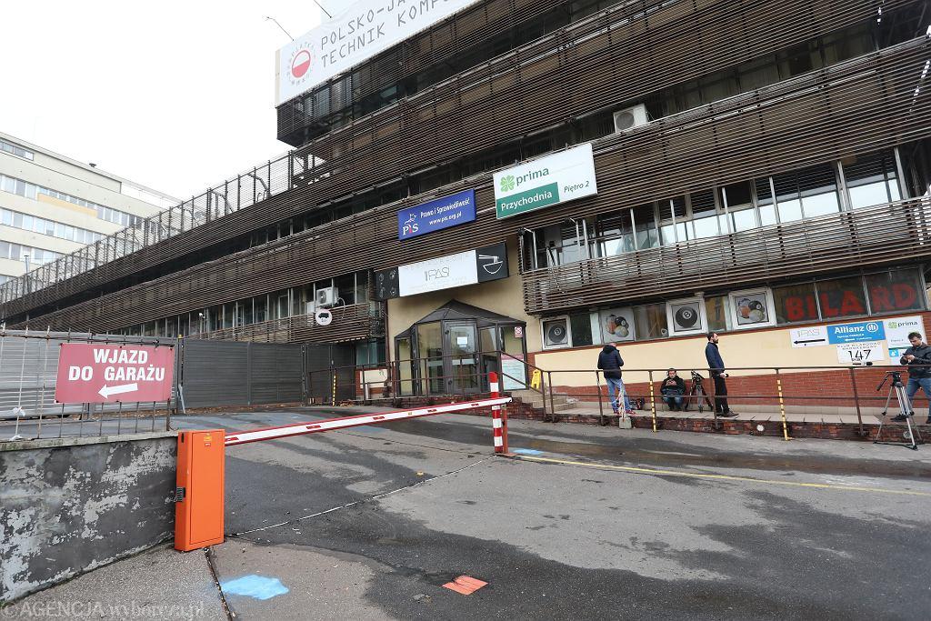 Siedziba PIS-u przy ul. Nowogrodzkiej w Warszawie.