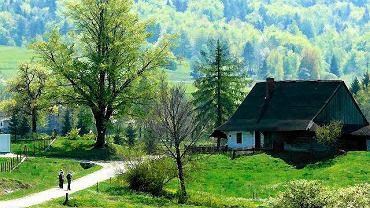 Wieś Bartne. Magurski Park Narodowy