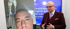 """Michał Kamiński trafił do szpitala. """"Pod trzema kroplówkami na raz jeszcze nie byłem"""""""