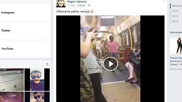 Filmik z tramwaju
