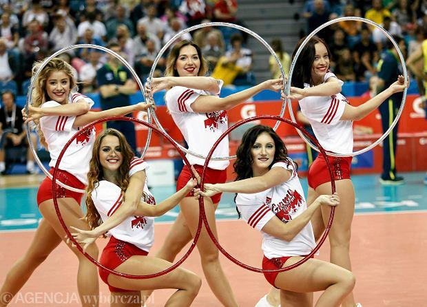 Zdjęcie numer 0 w galerii - Wszystkie przebrania cheerliderek na Ligę Światową w Tauron Arenie Kraków