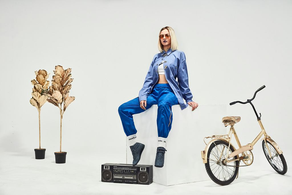 Natalia Nykiel i Holak w kampanii Reebok