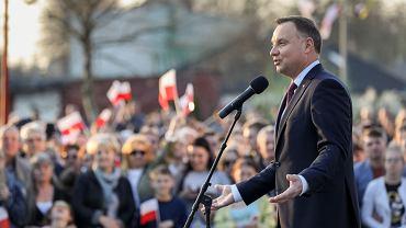 Andrzej Duda w Sulęcinie